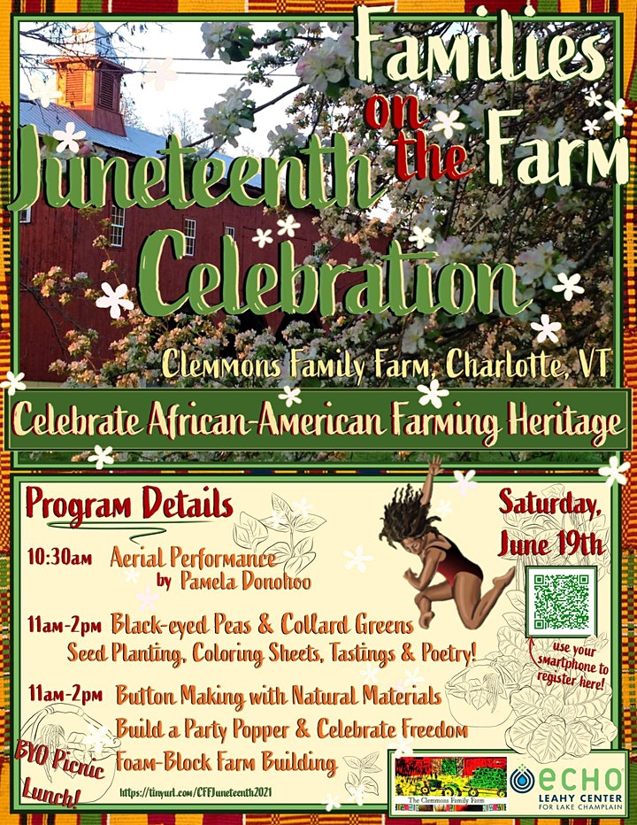 Families on the Farm: Juneteenth Celebration at the Clemmons Farm image