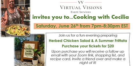 Cooking with Cecilia (Summer Edition) tickets