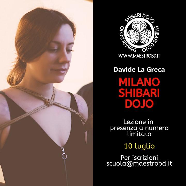 Immagine Milano Shibari Dojo – Lezione di Shibari e Bondage - 10 Luglio 2021