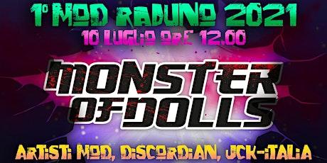 MoD 2021 raduno,   IDOL come back to RRROOOAAAARRRRRR ! biglietti