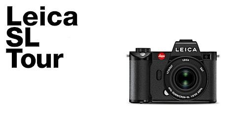 Leica SL Tour au studio chez Mennesson Photo billets