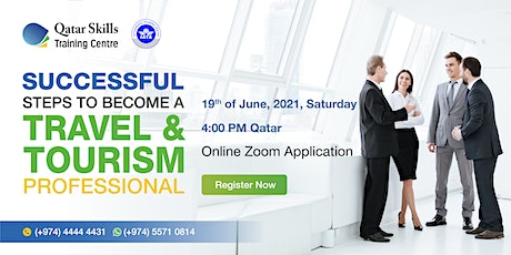 """""""Successful Steps to Become a Travel & Tourism Professional"""" tickets"""