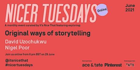 Nicer Tuesdays Online: June tickets