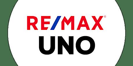 """""""RE/MAX UNO en 60 minutos"""" boletos"""