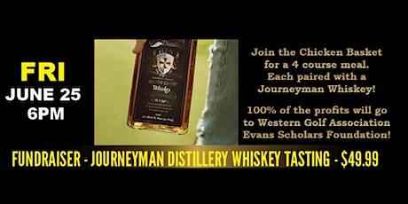 Fundraiser -Journeyman Distillery Whiskey Tasting tickets
