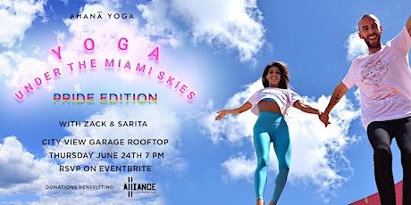 Yoga under the Miami skies: Pride Edition tickets
