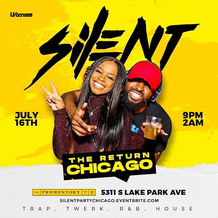 """Silent Party Chicago """"The Return"""" image"""