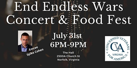 End Endless Wars Concert & Food Fest tickets