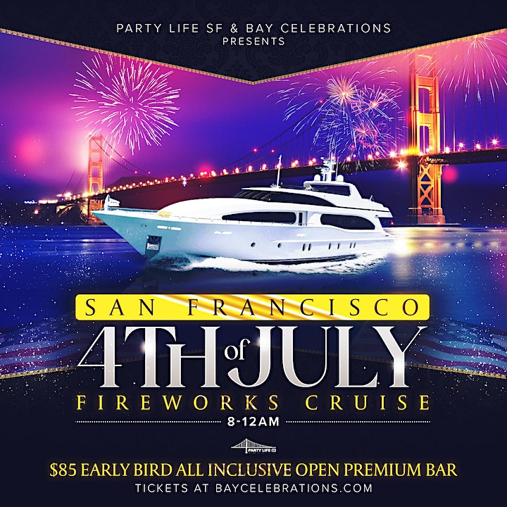 4TH OF JULY FIREWORKS CRUISE image