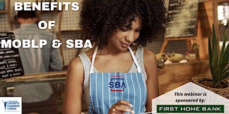 Benefits of Minority Owners Business Lending Plan & SBA tickets