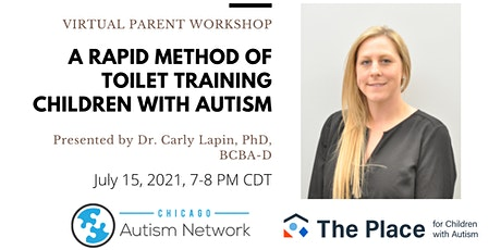 Parent Workshop: A Rapid Method of Toilet Training in Children with Autism tickets