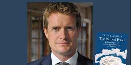 Potteries Lunar Society invite you to an  evening With Tristram Hunt tickets