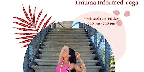 Trauma-Informed yoga LIVE STREAM tickets