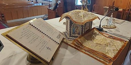 Mass Celebration (Arabic) القداس الأسبوعي باللغه العربيه  Exceptional tickets