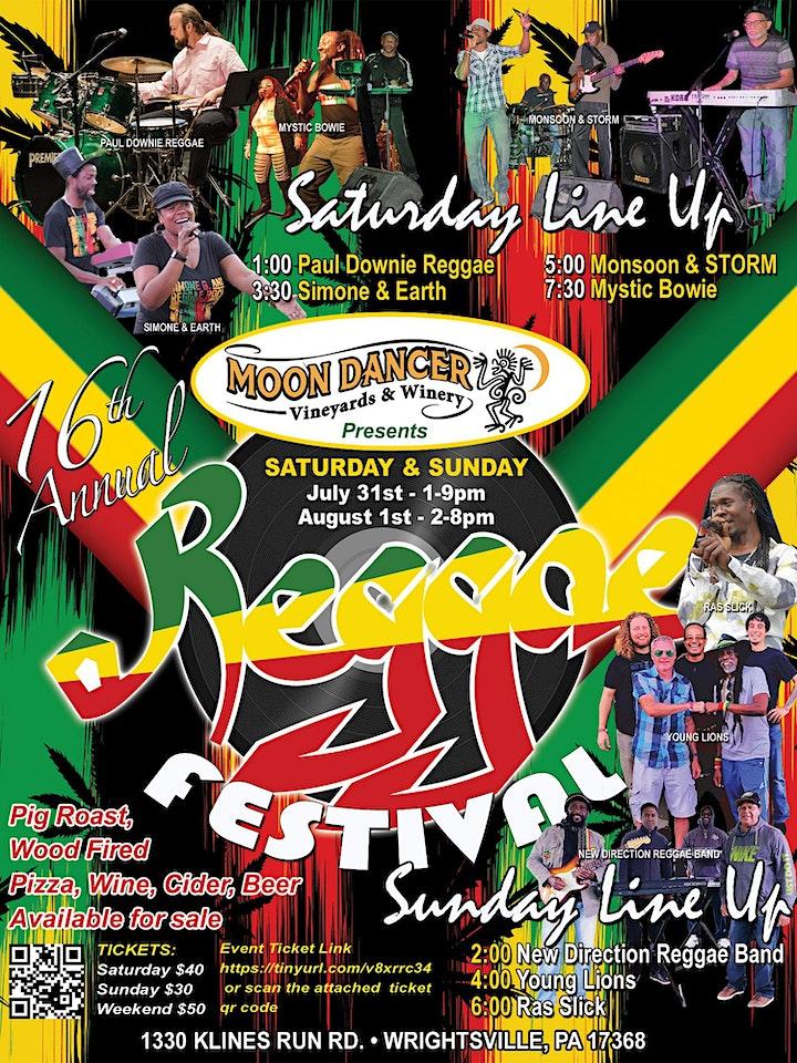 Moon Dancer Winery's 16th Annual Reggae Festival image