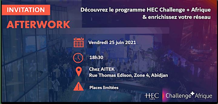 Image pour Afterwork HEC Challenge + Afrique
