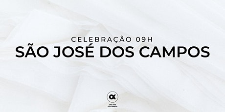 CULTO SÃO JOSÉ DOS CAMPOS 27/06 - 09h00 ingressos