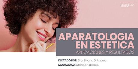 Curso de Aparatología estética. Aplicaciones y Resultados boletos