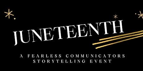 Juneteenth: Storytelling Event tickets