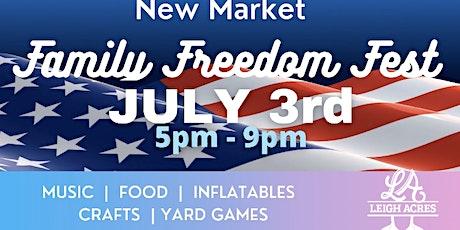 New Market Family Freedom Fest tickets