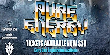 CR3ATIV3 CONN3CTIONS PRESENTS  PURE ENERGY tickets