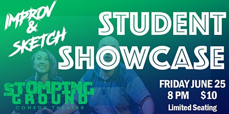 Improv & Sketch Student Showcase! tickets