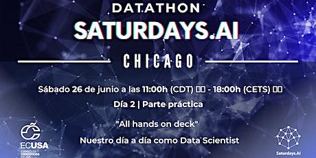 Datathon Saturdays.ai Chicago Parte 2 entradas