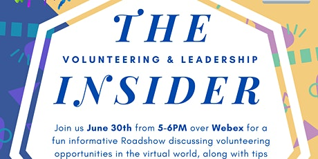 Online Roadshow: The Volunteering and Leadership Insider tickets