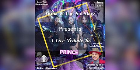 Prince Tribute Show: Aniba and The Sol Starz tickets