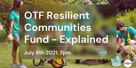 OTF Resilient Communities Fund tickets