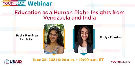 Education as a Human Right: Insights from Venezuela and India tickets