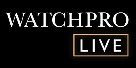 WatchPro Salon Saturday tickets