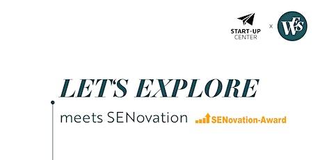 LET'S EXPLORE - Entwickle deine Gründungsidee für einen bestehenden Markt! Tickets
