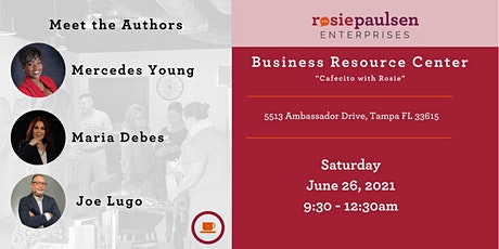 Meet The Authors at Cafecito with Rosie - June 2021 tickets