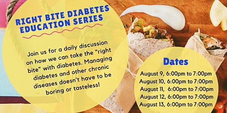 Right Bite Diabetes Education Series tickets