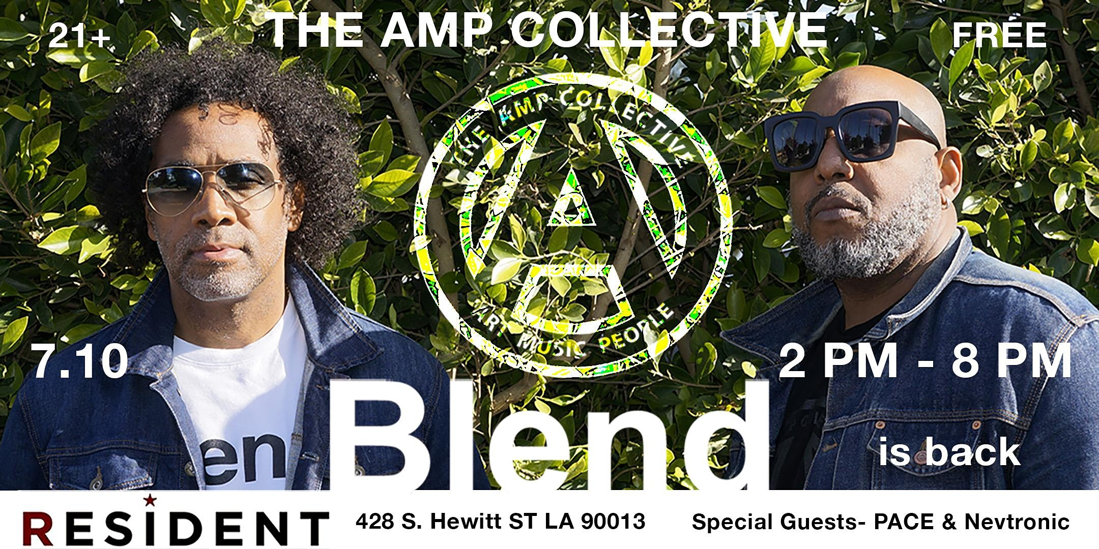 The AMP Collective's Blend Day Party returns to Resident