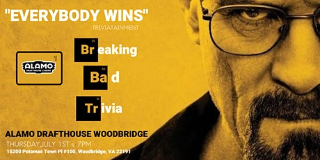 Breaking Bad Trivia at Alamo Drafthouse Woodbridge tickets