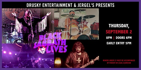 Black Sabbath Lives tickets