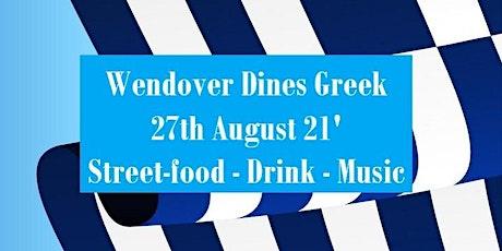 Wendover Dines Greek tickets