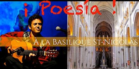 Poesia, concert à la basilique Saint Nicolas tickets