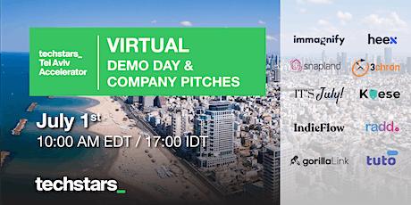 Virtual Techstars Tel Aviv Demo Day tickets