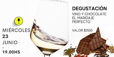 Fusión Vino y Chocolate entradas