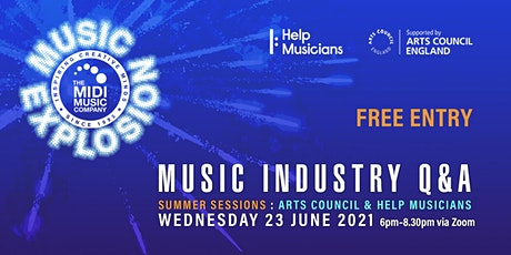 Music Explosion Summer Sessions: Money for Creativity entradas