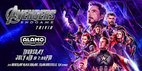 Avengers:Endgame Trivia at Alamo Drafthouse Charlottesville tickets