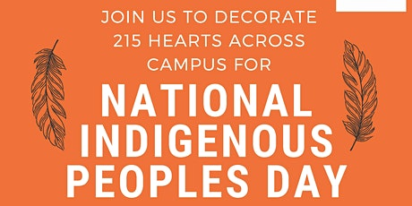 Hearts Across Campus - National Indigenous Peoples Day: Event 1 tickets
