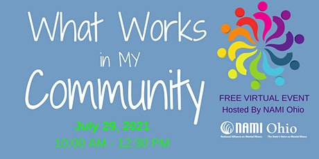 What Works in My Community Virtual Event tickets