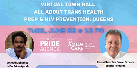 Virtual Town Hall: All About Trans Health—PrEP & HIV Prevention: Queens tickets
