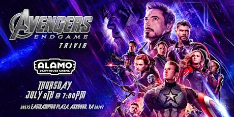 Avengers:Endgame Trivia at Alamo Drafthouse Loudoun tickets