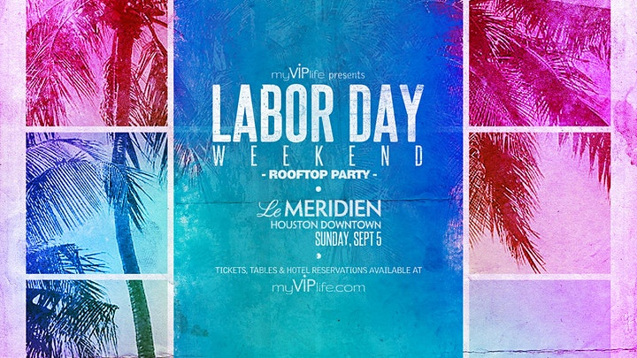 Labor Day Weekend Rooftop Party image