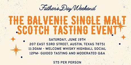 The Balvenie Whisky Tasting & Cocktail Social tickets